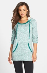 Women's Marc New York By Andrew Marc Hooded Tunic Teal