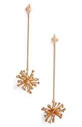 Kendra Scott Women's 'Tricia' Drop Earrings White Cz Rose Gold