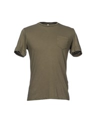 Crossley T Shirts Military Green
