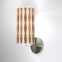 Jefdesigns Weave 2 Wall Sconce Jd_Weave2_Oak Walnut_Soma White Oak And Walnut Brown