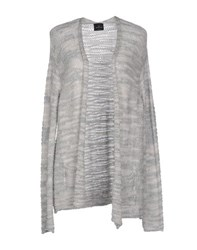 Gotha Knitwear Cardigans Women Light Grey