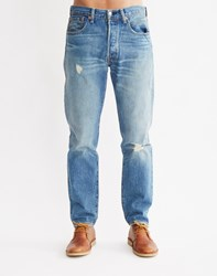 Levi's 501 Customized And Tapered Red Church Jean
