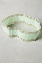 Anthropologie Seafoam Beaded Belt Mint