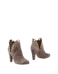 Sgn Giancarlo Paoli Ankle Boots Cocoa