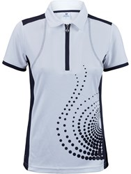 Daily Sports Spin Short Sleeved Polo Shirt Blue