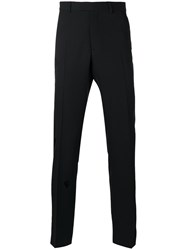 Christian Dior Homme Trouser With Stitched Detail Black