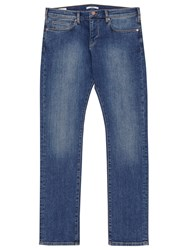 Reiss Champion Mid Wash Slim Jeans Blue