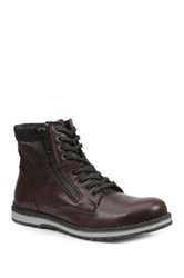 Gbx Plain Toe Boot Red