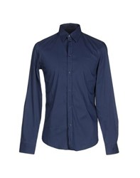 Trussardi Jeans Shirts Shirts Men Dark Blue