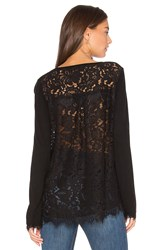 Generation Love Marjorie Lace Top Black