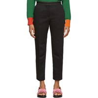 Marni Black Crop Trousers
