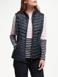 Gerry Weber Quilted Gilet Navy