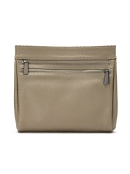 Mara Mac Leather Clutch Nude And Neutrals