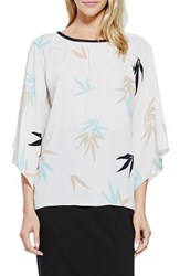 Women's Vince Camuto 'Floating Leaves' Kimono Sleeve Blouse