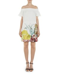 Ted Baker Nayylee Tranquility Tunic Style Romper White