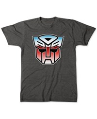 Freeze 24 7 Transformers Graphic T Shirt Charcoal Heather