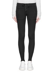 Calvin Klein Thermal Pocket Leggings Black