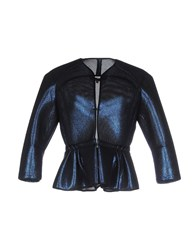Space Style Concept Coats And Jackets Jackets Women Blue