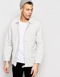 Waven Worker Jacket Mikel Mink Grey Grey