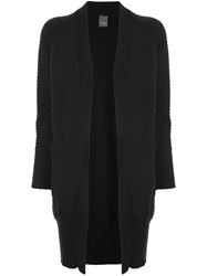Lorena Antoniazzi Open Knit Cardigan Black