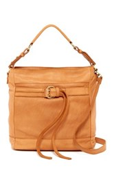 Sondra Roberts Washed Nappa Convertible Shoulder Bag Brown