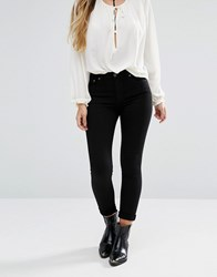Lovers Friends Mason High Rise Skinny Jeans Del Amo Black