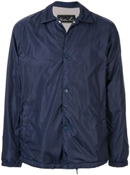 Martine Rose Snap Button Jacket Blue