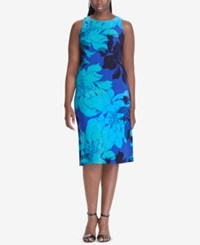 American Living Floral Print Midi Dress Plaza Floral