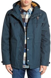 Men's Rvca 'Wright Ii' Hooded Canvas Jacket