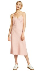 Mother The Slip Up Dress Blush