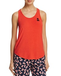 Psycho Bunny High Low Racerback Tank Brilliant Red
