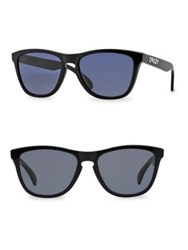 Oakley Frogskins Rounded Square Sunglasses Black
