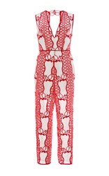 Alice Mccall It's What I Want Jumpsuit Red