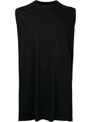 Rick Owens Drkshdw Sleeveless T Shirt Men Cotton S Black