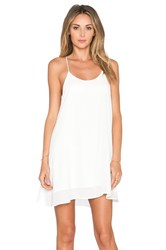 De Lacy Hollywood Mini Dress White