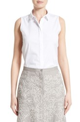 Lafayette 148 New York Women's Talitha Sleeveless Blouse