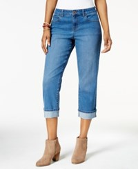 Style And Co Curvy Cuffed Capri Jeans Created For Macy's Riverside