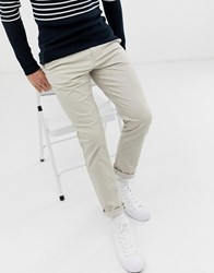 Selected Homme Straight Fit Chino Cream