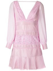Martha Medeiros Francesa Otilia Short Dress Pink