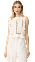Zimmermann Valour Frill Top White