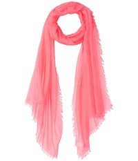 Collection Xiix Solid Soft Wrap Scarf Hot Pink Scarves