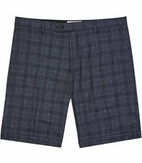 Reiss Gregory S Tailored Shorts In Blue