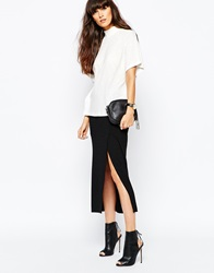 Selected Plesa Midi Skirt Black