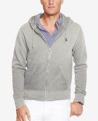 Polo Ralph Lauren Men's Hoodie Core Full Zip Hooded Fleece Alaskan Heather