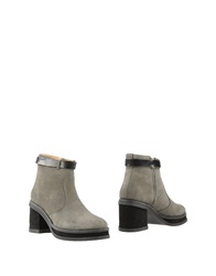 Purified Ankle Boots Grey