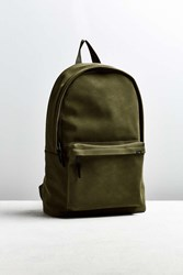 Urban Outfitters Uo Faux Suede Backpack Green