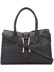 Sam Edelman Large Tote Women Leather One Size Black