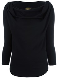 Vivienne Westwood Anglomania Amber Blouse Black