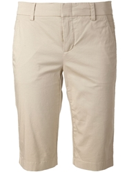 Vince Slim Fit Shorts Nude And Neutrals