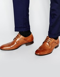 Selected Homme Latin Derby Shoes Brown